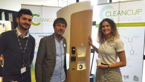 Nicolas Hulot soutient CleanCup